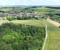 the-tambour-with-fricourt-village-behind-looking-up-to-bois-francais