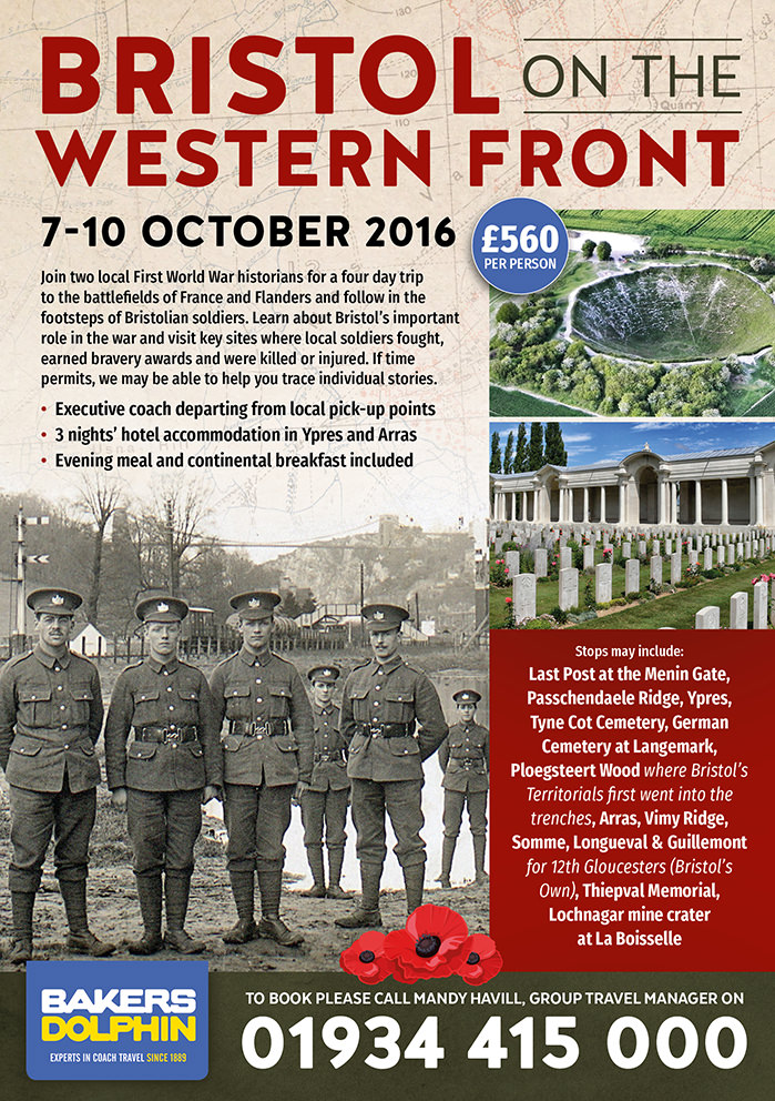 Bristol on the Western Front with Jeremy Banning & Clive Burlton 1