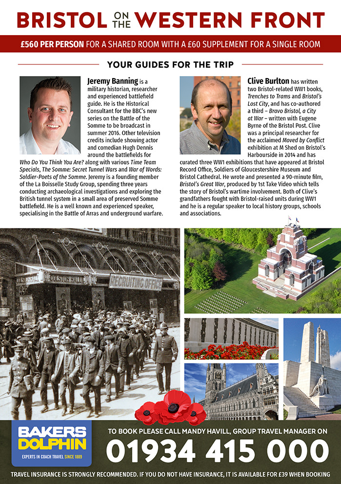 Bristol on the Western Front with Jeremy Banning & Clive Burlton 2