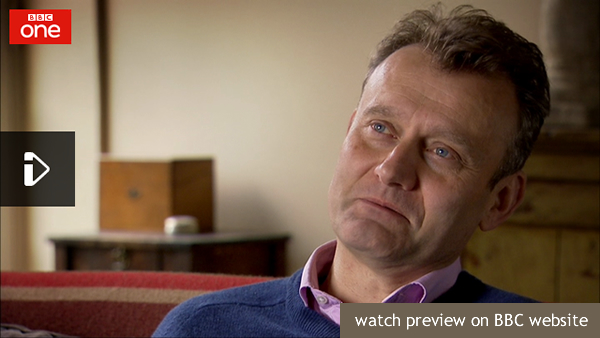Hugh Dennis on 'Who Do You Think You Are?'