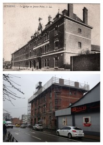 College des Jeune Filles, Bethune - then and now