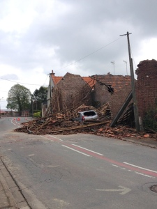 Recently destroyed house, Monchy-le-Preux