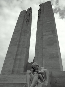 Allward's masterpiece - the Vimy Memorial