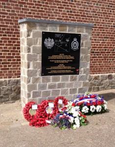 Memorial to commemorate the losses of the 1st Battalion Essex Regiment and the Essex Yeomanry at Monchy-le-Preux