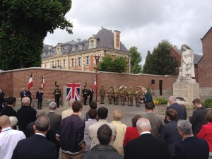 The start of the ceremony, 21 May 2016